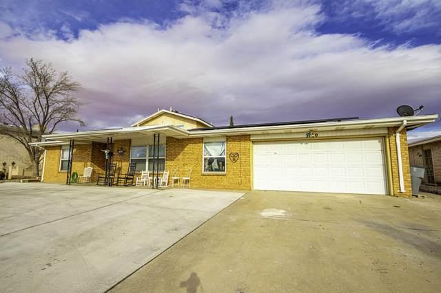 3120 Bert Yancey Drive, El Paso, TX 79936 (MLS #823836) :: Preferred Closing Specialists