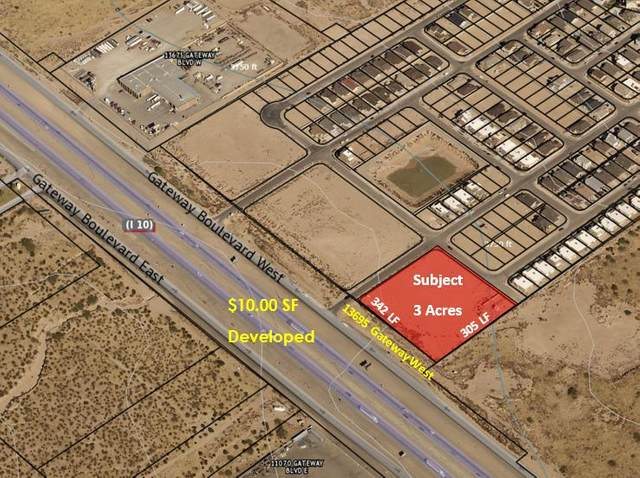 13695 Gateway Boulevard W, El Paso, TX 79928 (MLS #826556) :: Mario Ayala Real Estate Group