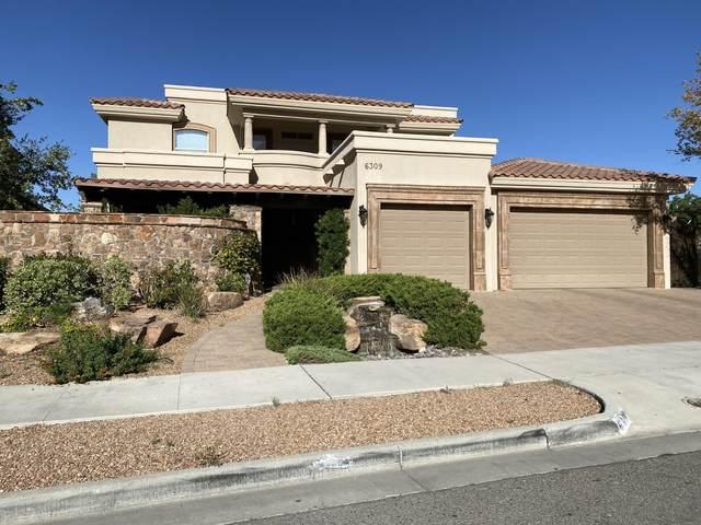 6309 Via Serena Drive, El Paso, TX 79912 (MLS #829957) :: Jackie Stevens Real Estate Group brokered by eXp Realty