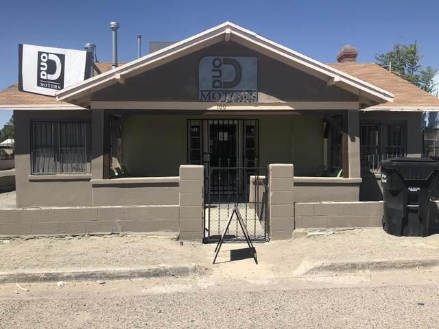 100 E Washington Street, Anthony, TX 79821 (MLS #832747) :: The Matt Rice Group
