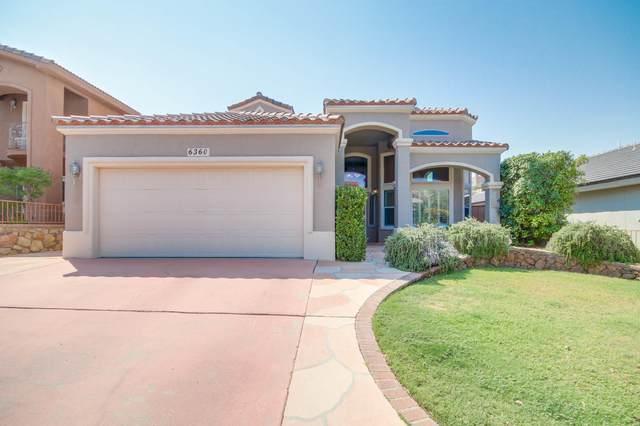6360 Franklin Gate Drive, El Paso, TX 79912 (MLS #832773) :: Jackie Stevens Real Estate Group brokered by eXp Realty