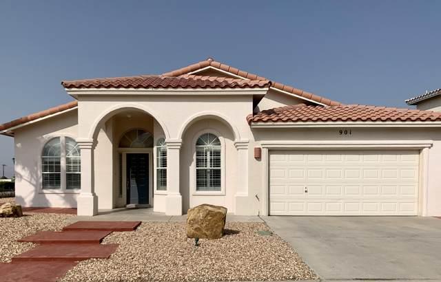 901 Las Pistas Place, El Paso, TX 79912 (MLS #834277) :: Mario Ayala Real Estate Group