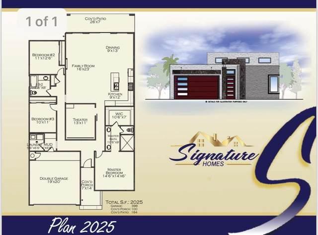 12320 Desert Pine, El Paso, TX 79938 (MLS #834882) :: Jackie Stevens Real Estate Group brokered by eXp Realty