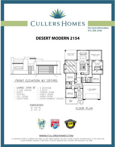 350 Dursley Street, El Paso, TX 79928 (MLS #835669) :: The Matt Rice Group