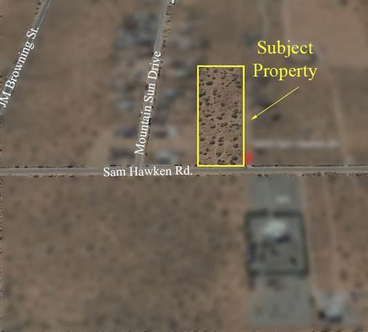 14600 Sam Hawken Road, El Paso, TX 79938 (MLS #846851) :: Preferred Closing Specialists