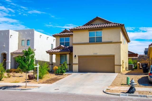 12445 Chamberlain Drive, Horizon City, TX 79928 (MLS #848027) :: Red Yucca Group