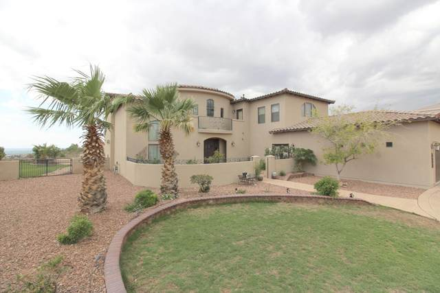 6693 Tuscany Ridge Drive, El Paso, TX 79912 (MLS #848537) :: Red Yucca Group