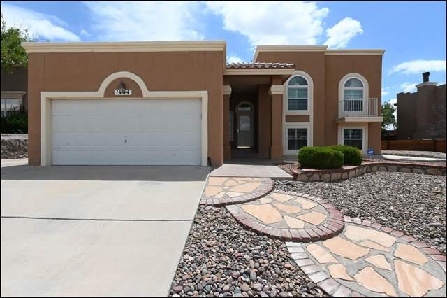 1404 Arrow Ridge Way, El Paso, TX 79912 (MLS #849375) :: The Matt Rice Group