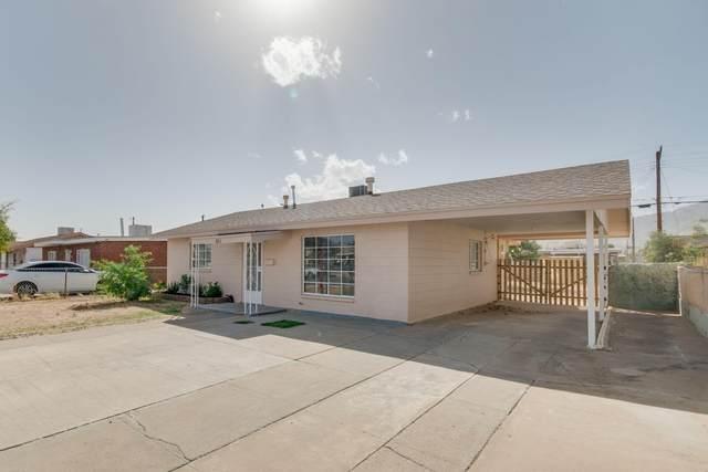 8311 Mount Everest Drive, El Paso, TX 79904 (MLS #852940) :: Mario Ayala Real Estate Group