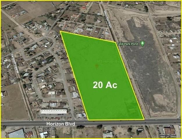 975 S Horizon Boulevard, Socorro, TX 79927 (MLS #853541) :: Preferred Closing Specialists