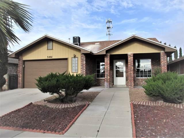 3461 Yellow Rose Street, El Paso, TX 79936 (MLS #815782) :: Preferred Closing Specialists