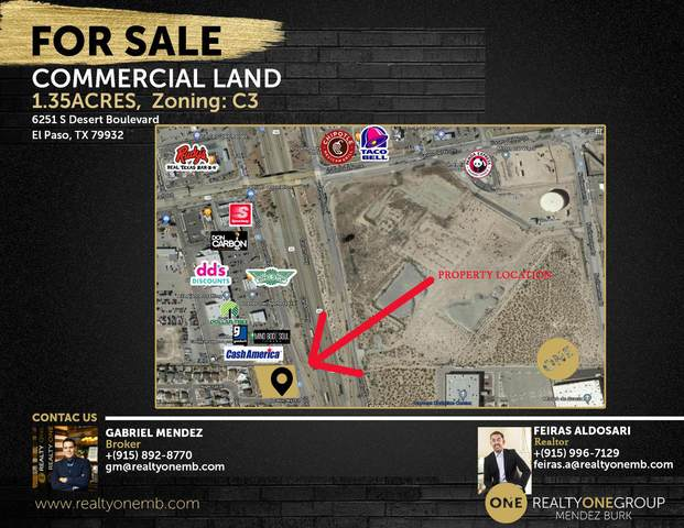 6251 S Desert Boulevard, El Paso, TX 79932 (MLS #834571) :: The Purple House Real Estate Group