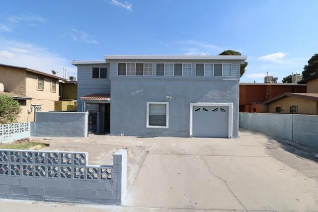 10628 Cuatro Vistas Drive A, El Paso, TX 79935 (MLS #846950) :: Red Yucca Group
