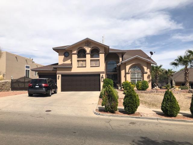 1370 Whirlaway Drive, El Paso, TX 79936 (MLS #806858) :: The Matt Rice Group