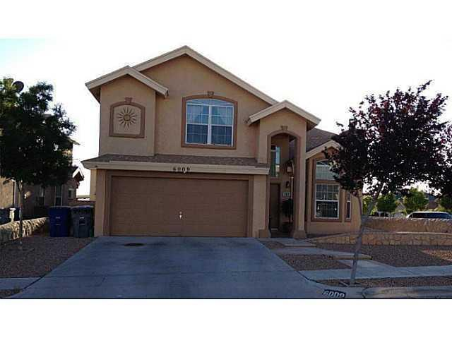 6009 Palmdale Street, El Paso, TX 79932 (MLS #810374) :: The Purple House Real Estate Group