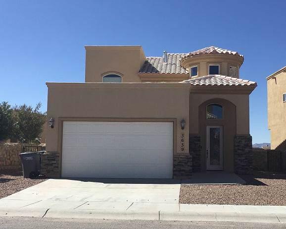 3639 Almond Beach Drive, El Paso, TX 79936 (MLS #816983) :: Preferred Closing Specialists