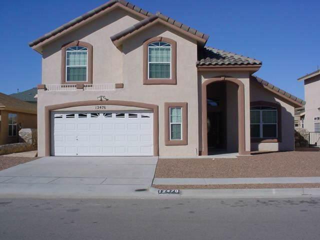 12476 Paseo Alegre Drive, El Paso, TX 79928 (MLS #817406) :: The Matt Rice Group