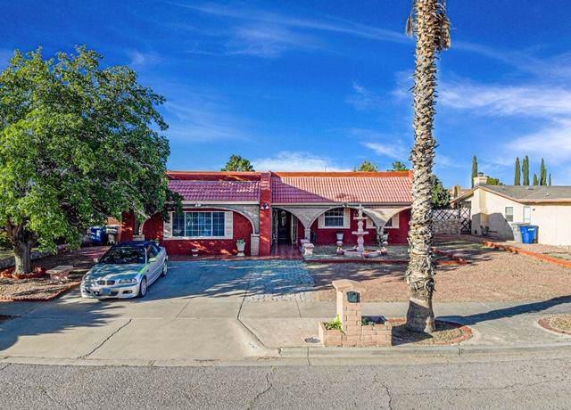 10709 George Archer Drive, El Paso, TX 79935 (MLS #817410) :: The Matt Rice Group