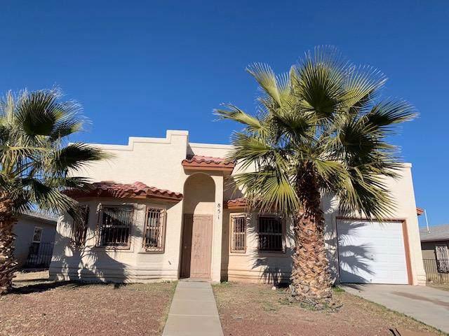 851 Luisa Guerra Drive, San Elizario, TX 79849 (MLS #821711) :: Preferred Closing Specialists