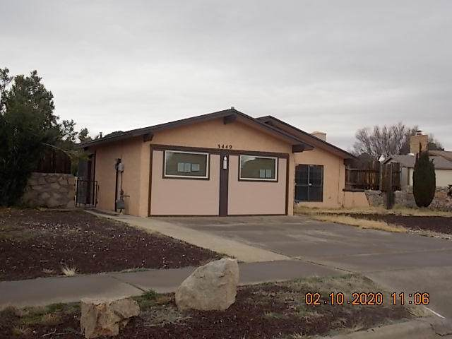 3449 Spotted Horse Drive, El Paso, TX 79936 (MLS #822914) :: Preferred Closing Specialists