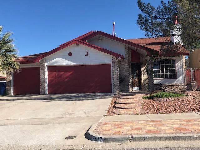 7017 Canyon Run Drive, El Paso, TX 79912 (MLS #825506) :: Preferred Closing Specialists