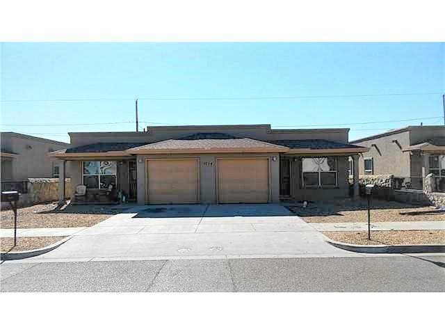 5724 Saluki Drive A.B, El Paso, TX 79924 (MLS #825940) :: Preferred Closing Specialists