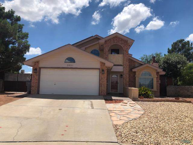 2901 Gull Lake Place, El Paso, TX 79936 (MLS #831147) :: The Matt Rice Group