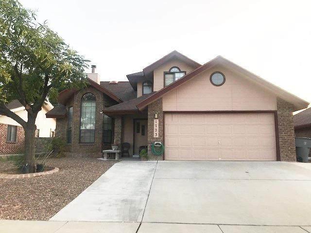 1723 Charlie Smith Drive, El Paso, TX 79936 (MLS #834200) :: The Matt Rice Group