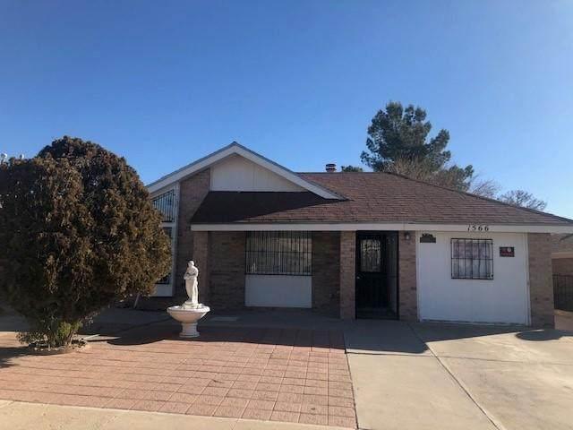 1566 Whistler Lane, El Paso, TX 79936 (MLS #842511) :: Preferred Closing Specialists