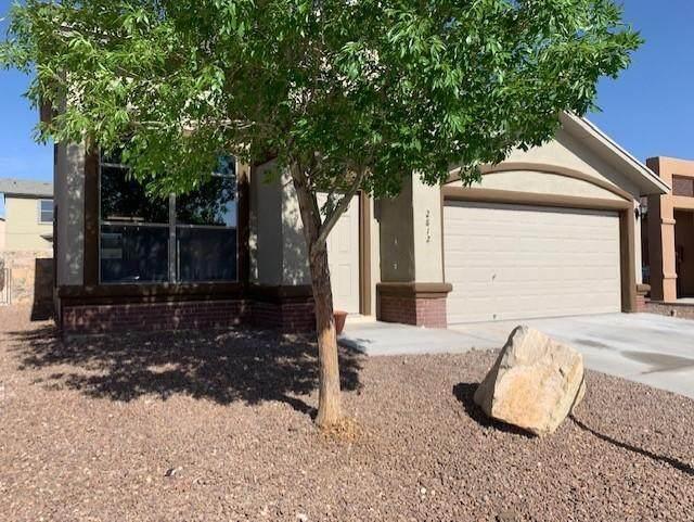 2812 Pasillo Rock Place, El Paso, TX 79938 (MLS #845604) :: Preferred Closing Specialists