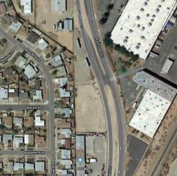 9521 Railroad Drive, El Paso, TX 79924 (MLS #847810) :: Red Yucca Group