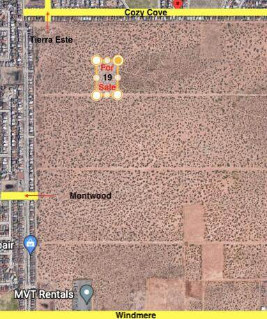 TBD Tbd, El Paso, TX 79938 (MLS #848846) :: Red Yucca Group