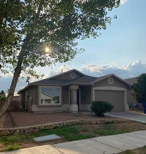 4949 Marcella Santillana Street, El Paso, TX 79938 (MLS #850080) :: The Matt Rice Group