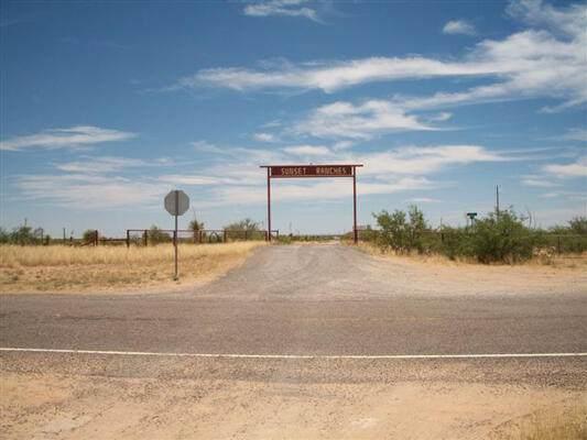 71 Tsp 6 Sec 10 T&P Sunset Ranch Road, Sierra Blanca, TX 79851 (MLS #853576) :: The Purple House Real Estate Group
