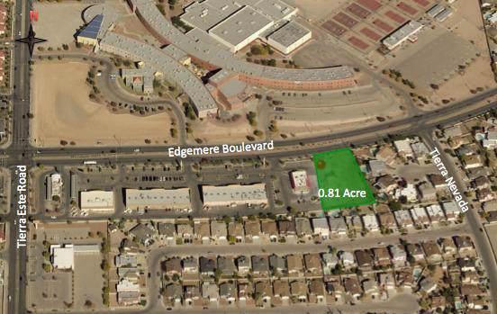 12444 Edgemere Boulevard, El Paso, TX 79938 (MLS #818490) :: Preferred Closing Specialists