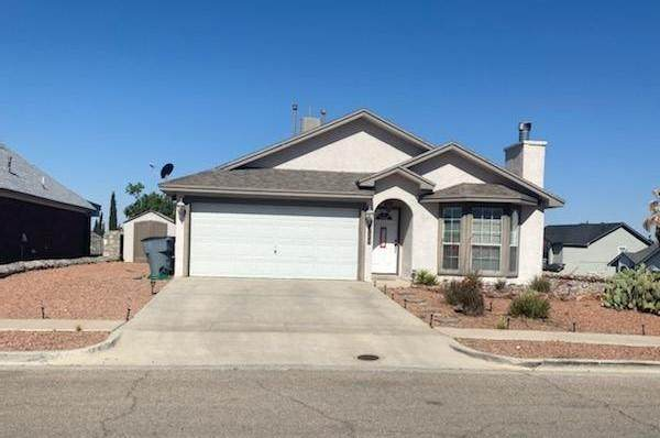 7021 Luz De Espejo Drive, El Paso, TX 79912 (MLS #845543) :: Preferred Closing Specialists
