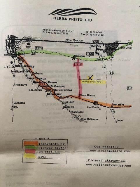 TBD Tbd, Sierra Blanca, TX 79851 (MLS #848859) :: Preferred Closing Specialists