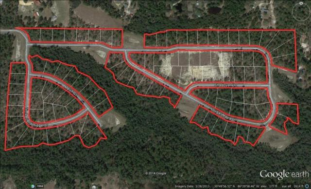 98 LOTS Timberland Ridge S/D, Crestview, FL 32539 (MLS #708466) :: Keller Williams Realty Emerald Coast