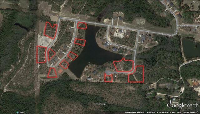 7 Lots Lake Arthur Phase II, Crestview, FL 32536 (MLS #758756) :: Scenic Sotheby's International Realty
