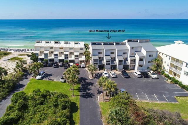 214 Blue Mountain Road Unit 122, Santa Rosa Beach, FL 32459 (MLS #777484) :: RE/MAX By The Sea