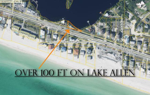 LAKE FRONT Co Hwy 30A (Portion Govt Lot), Santa Rosa Beach, FL 32459 (MLS #777950) :: Scenic Sotheby's International Realty