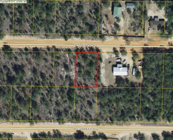 Lot 14 W Juniper Avenue, Defuniak Springs, FL 32433 (MLS #779402) :: Coast Properties