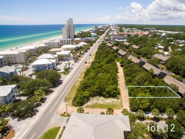 Lot 12 Cote D' Azur Drive, Santa Rosa Beach, FL 32459 (MLS #780233) :: Homes on 30a, LLC