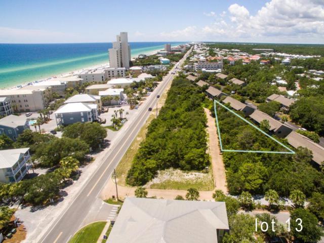Lot 13 Cote D' Azur Drive, Santa Rosa Beach, FL 32459 (MLS #780234) :: Homes on 30a, LLC