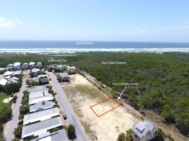 Lot 57 Cypress Drive, Santa Rosa Beach, FL 32459 (MLS #782350) :: The Premier Property Group