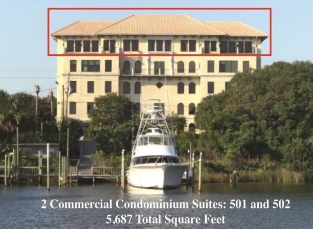 543 Harbor Boulevard Unit 501 & 502, Destin, FL 32541 (MLS #783526) :: Classic Luxury Real Estate, LLC