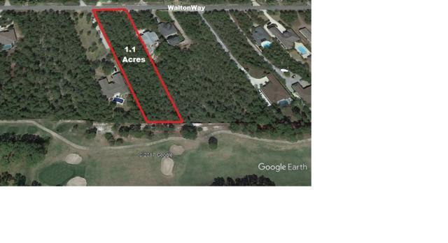 Lot 7 Walton Way, Miramar Beach, FL 32550 (MLS #784219) :: ResortQuest Real Estate