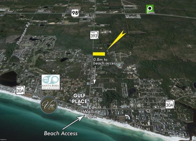 +/-6 Acres S County Road 393, Santa Rosa Beach, FL 32459 (MLS #785925) :: Coast Properties