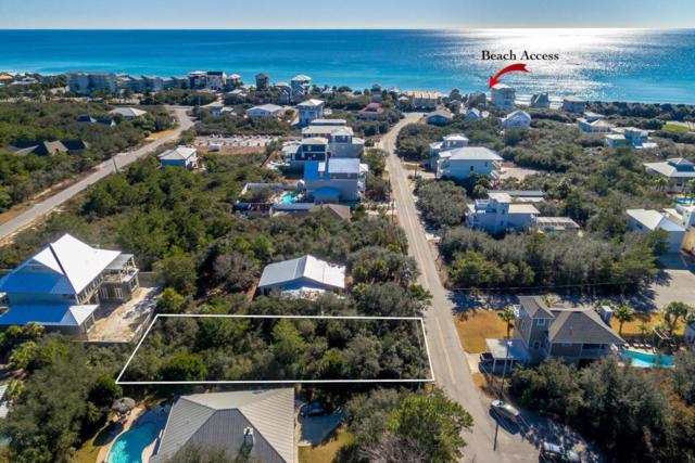 Lot 16 A Street, Inlet Beach, FL 32461 (MLS #789725) :: Luxury Properties on 30A