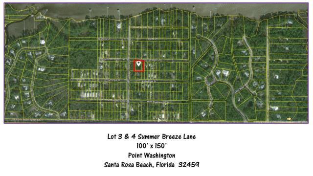 Lots 3 & 4 Summer Breeze Lane, Santa Rosa Beach, FL 32459 (MLS #790083) :: Coast Properties
